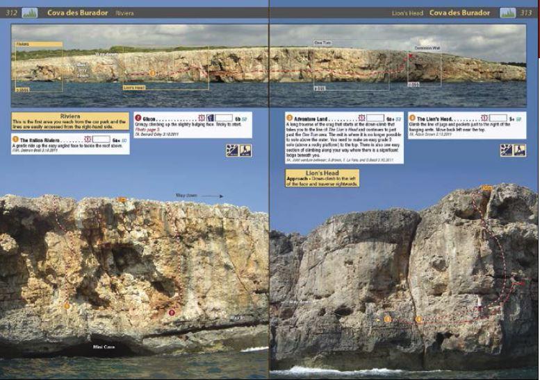 Klatrefører Mallorca - Oppslag 2