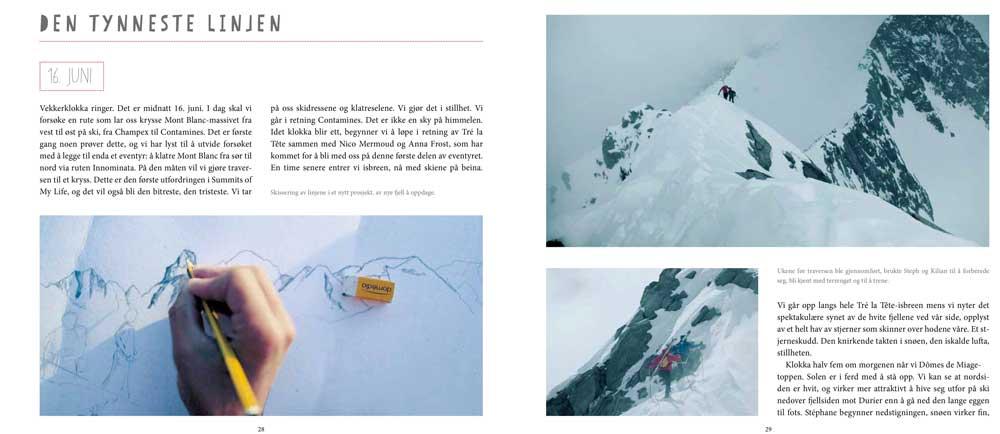 Summits of my life - Drømmer og utfordringer i fjellet - Oppslag 3