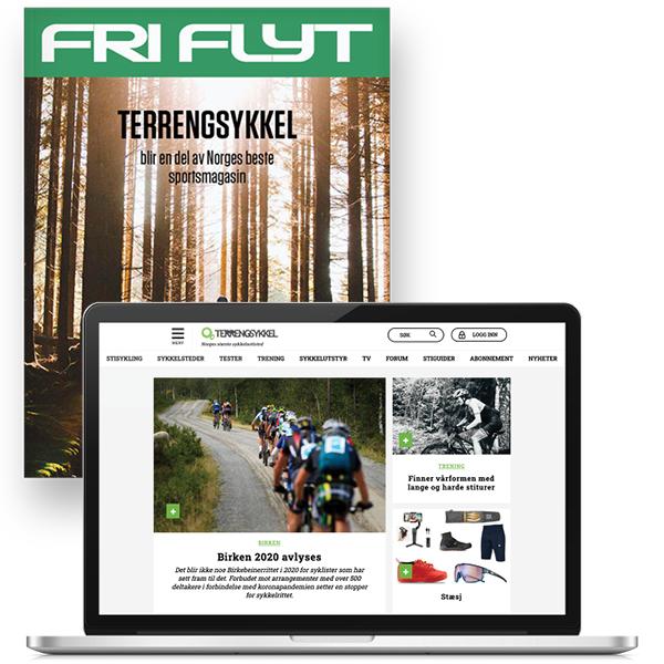Terrengsykkel-abonnement verden