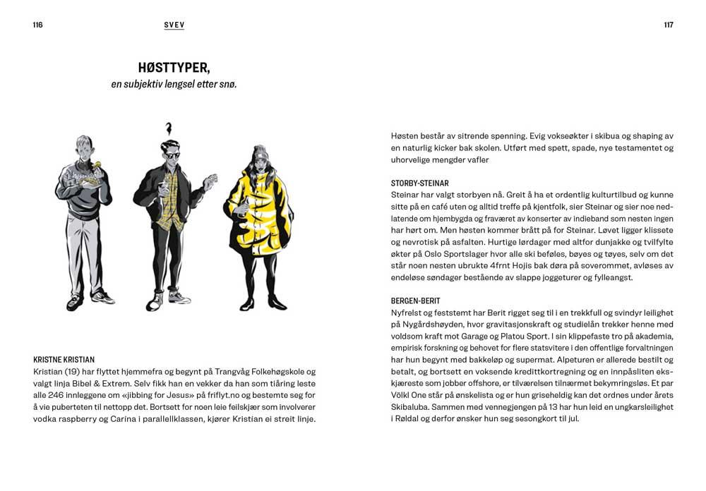 Siste tur - Historier om spor i pudder som skal snø igjen - oppslag 4