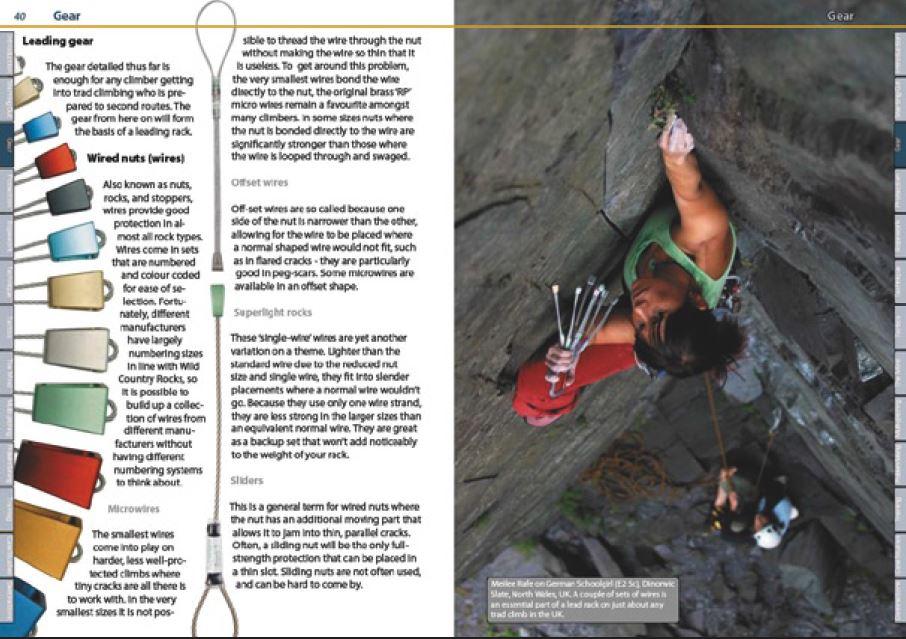 Trad Climbing Rockfax - Oppslag 3