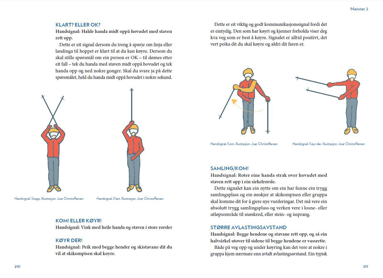 Skikompis - Snøskred og trygg ferdsel - oppslag 4