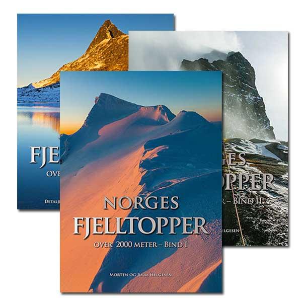 Hele trilogien: Begge bøkene og utsøkt kartpakke