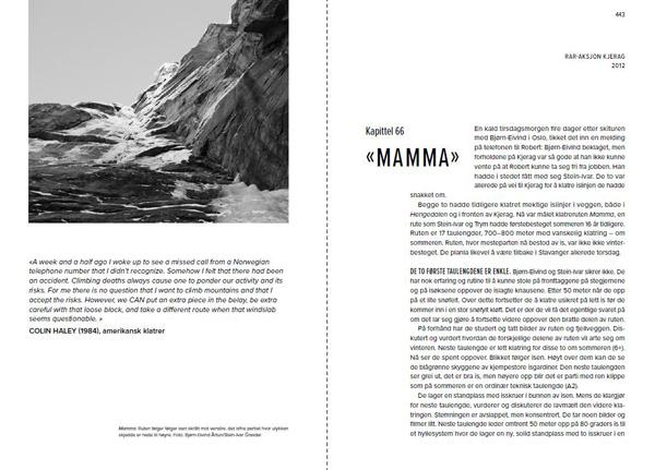 På død og liv - Norsk fjellredning fra innsiden - Oppslag 3