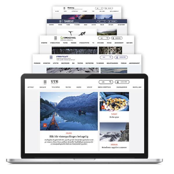 Digitalt abonnement som inkluderer innhold fra fem ledende nisjemagasiner