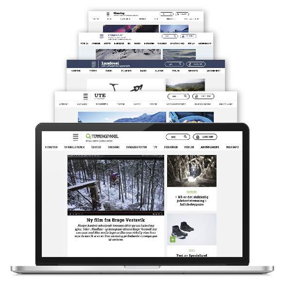 Digitalt abonnement Terrengsykkel alt inkludert