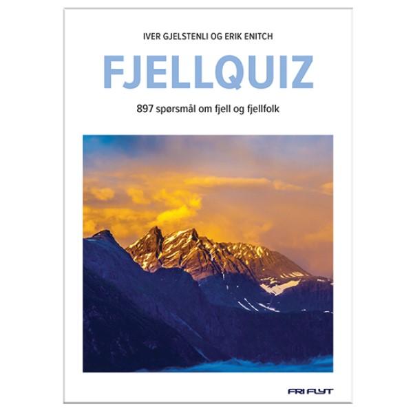 Fjellquiz. Quizbok om fjell, fjellfolk og friluftsliv.