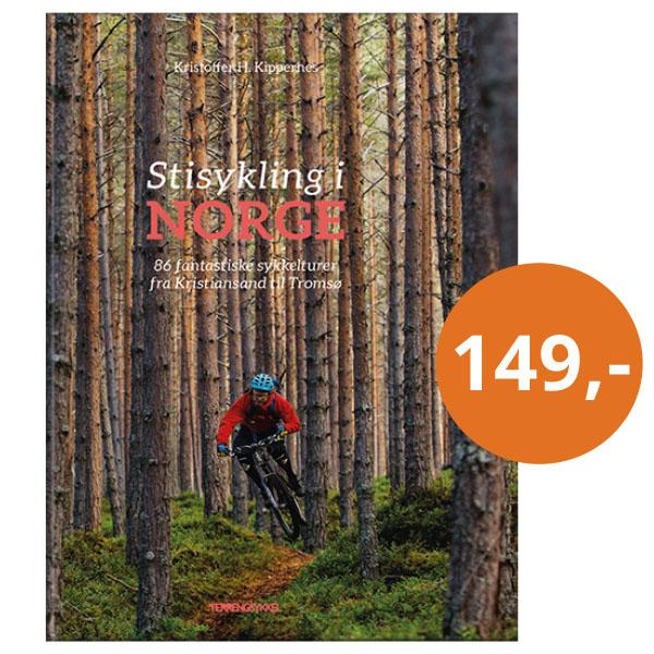 Stisykling i Norge - 86 fantastiske sykkelturer