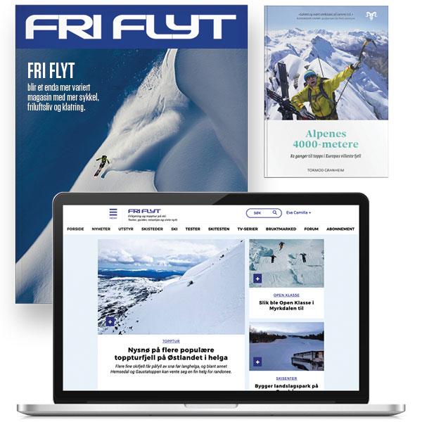 Fri Flyt abonnement og boka Alpenes 4000 metere av Tormod Granheim