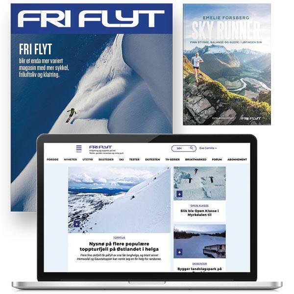 Fri Flyt abonnement og boka Sky Runner av Emelie Forsberg