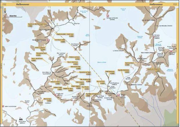 Klatrefører Chamonix - Oppslag 1
