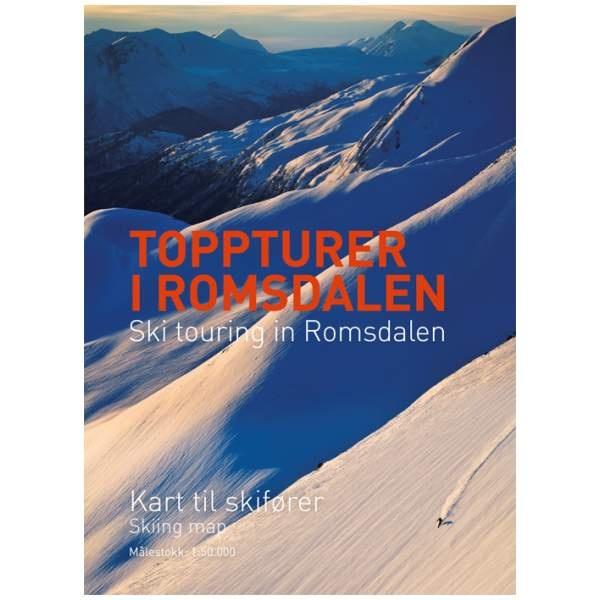 Romsdalen kart - Topptur og skikart Romsdalen