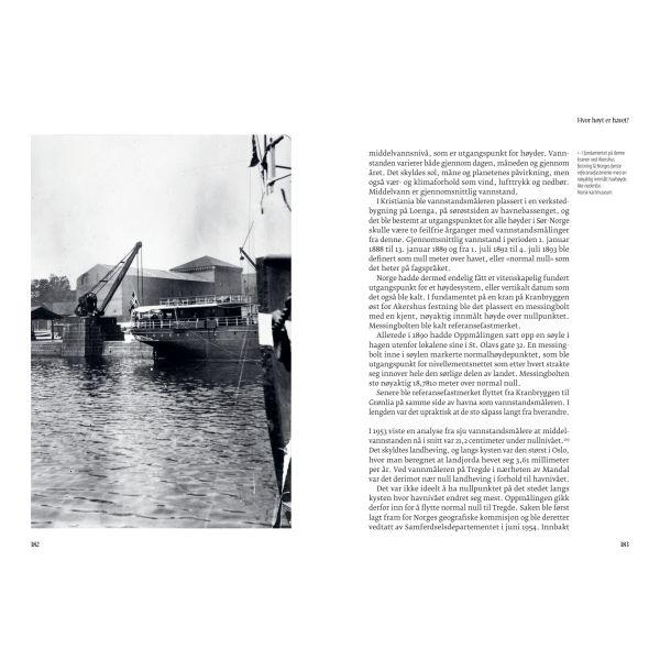 Oppslag fra boken Høyde over havet, skrevet av Sveinung Engeland
