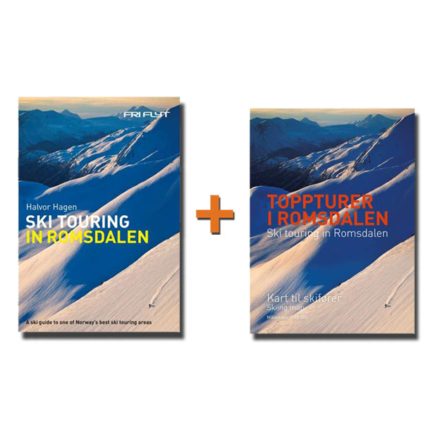 Guidebook and map to Romsdalen in english