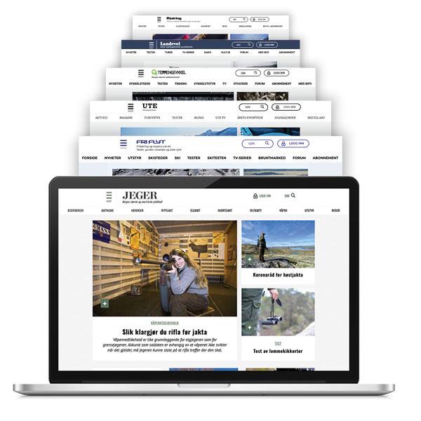Digitalt abonnement for jaktglade jegere
