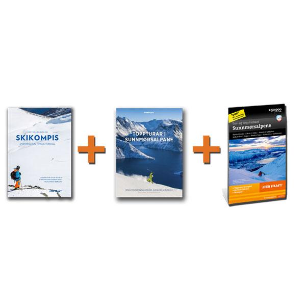Sunnmøre MAX: Guidebok, Skikompis og kart