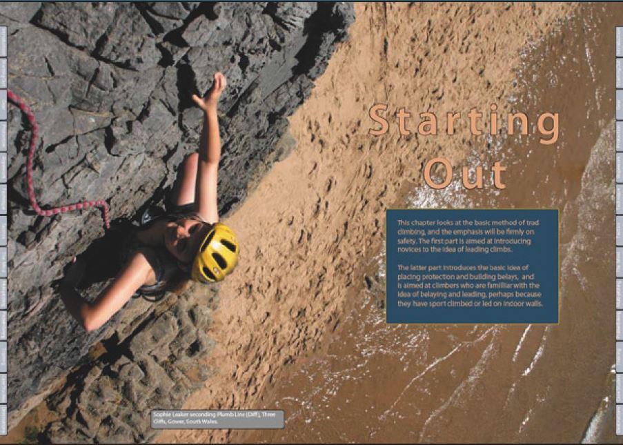 Trad Climbing Rockfax - Oppslag 1
