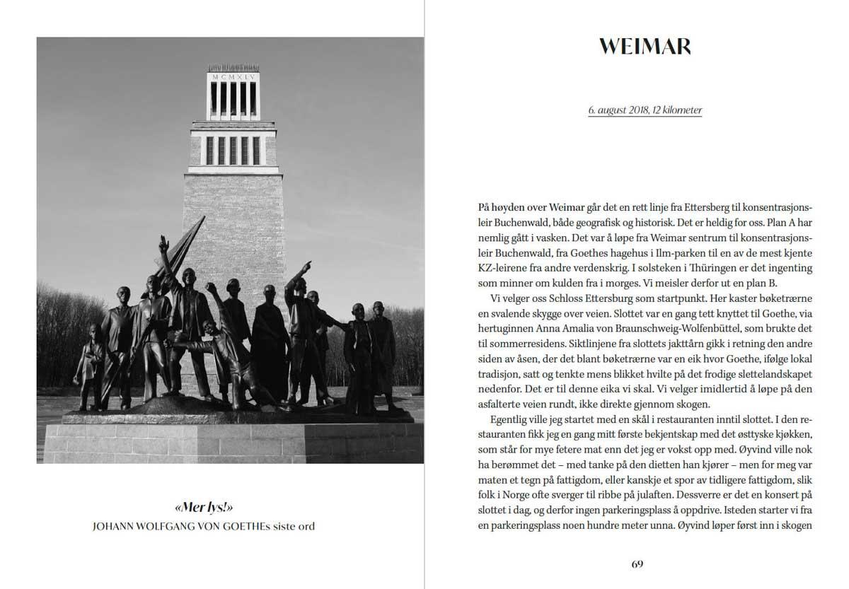 Utdrag fra boken Løperkongens skygge av Geir Stian Ulstein