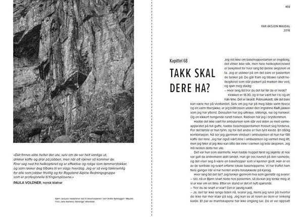 På død og liv - Norsk fjellredning fra innsiden - Oppslag 4