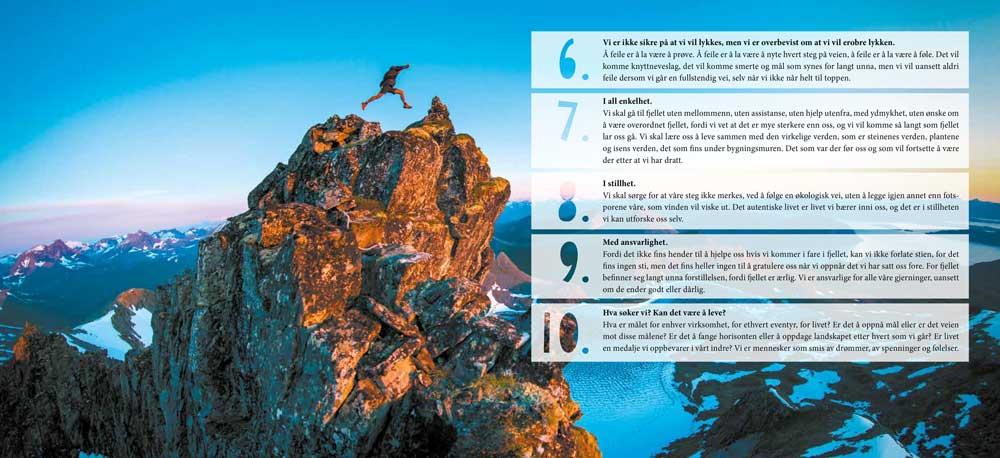 Summits of my life - Drømmer og utfordringer i fjellet - Oppslag 1
