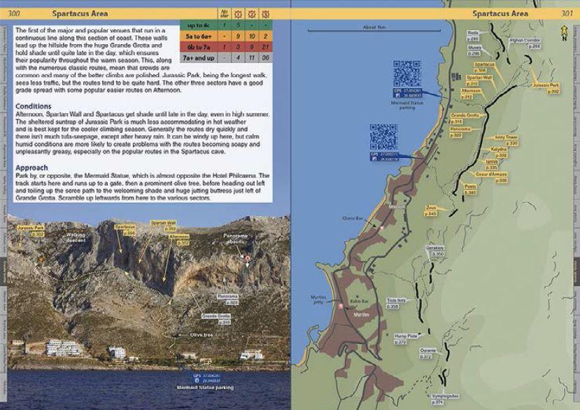 Klatrefører Kalymnos - Oppslag 2