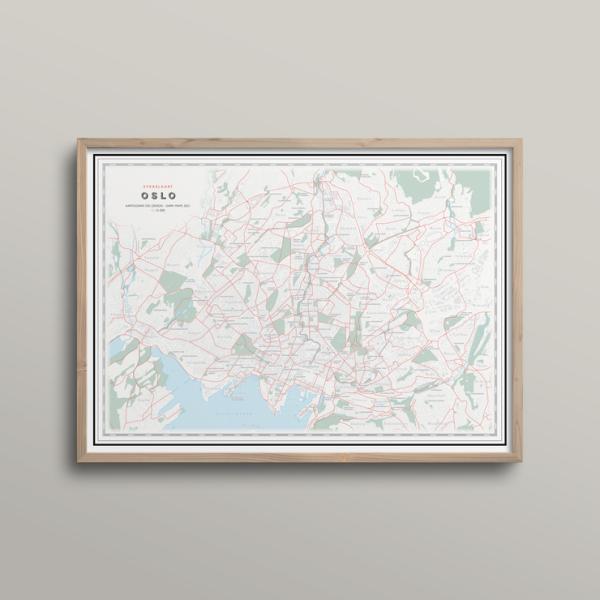 Kart Oslo