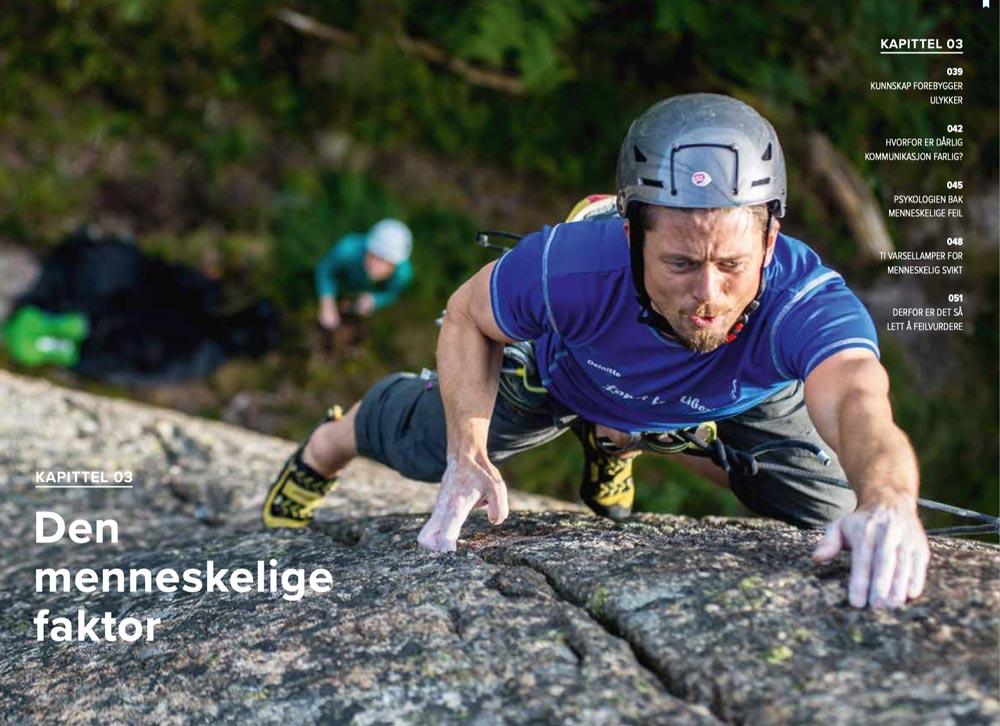 Sikker klatring og den menneskelige faktor