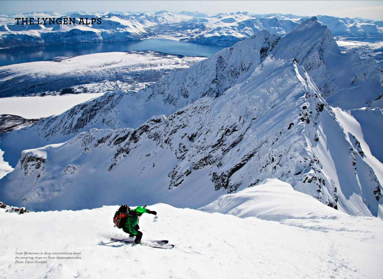 Extract from Ski Touring in Troms