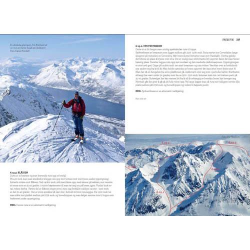 Grundige turbeskrivelser i Toppturer i Troms