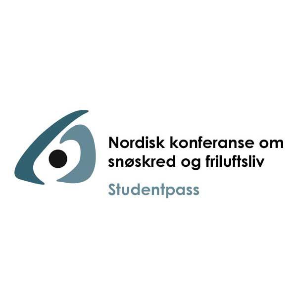 Skredkonferansen 2021 studentpass