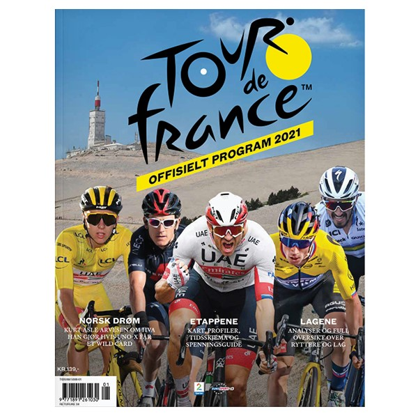 Offisielt Tour de France program