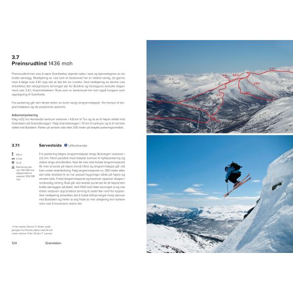 Topptur Hemsedal - eksempel på rute