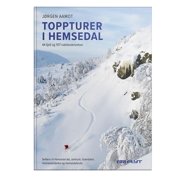 Toppturer i Hemsedal av Jørgen Aamot. Guidebok for Hemsedal.
