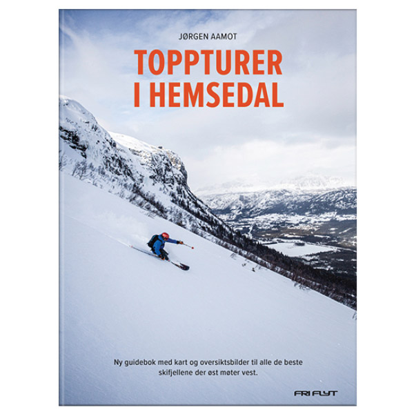 Toppturer i Hemsedal av Jørgen Aamot. Guidebok for Hemsedal.