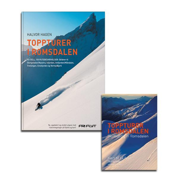 Toppturer i Romsdalen med kart