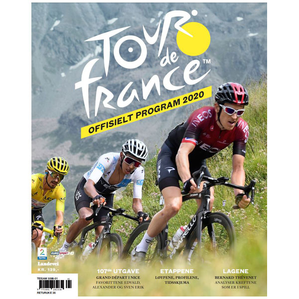 Offisielt Tour de France program