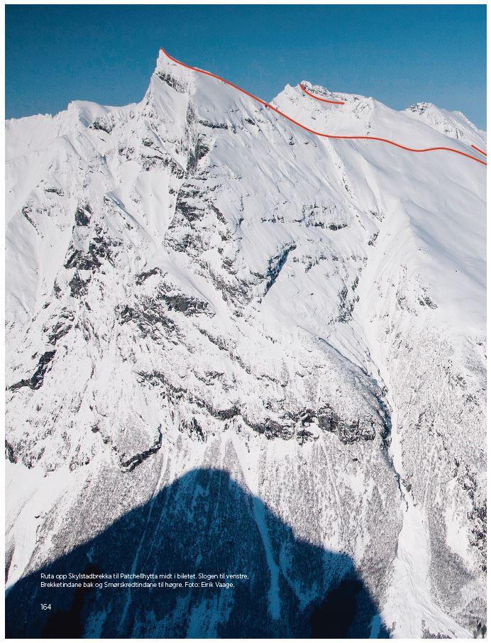 Topptur ski til Slogen - Sunnmørsalpene