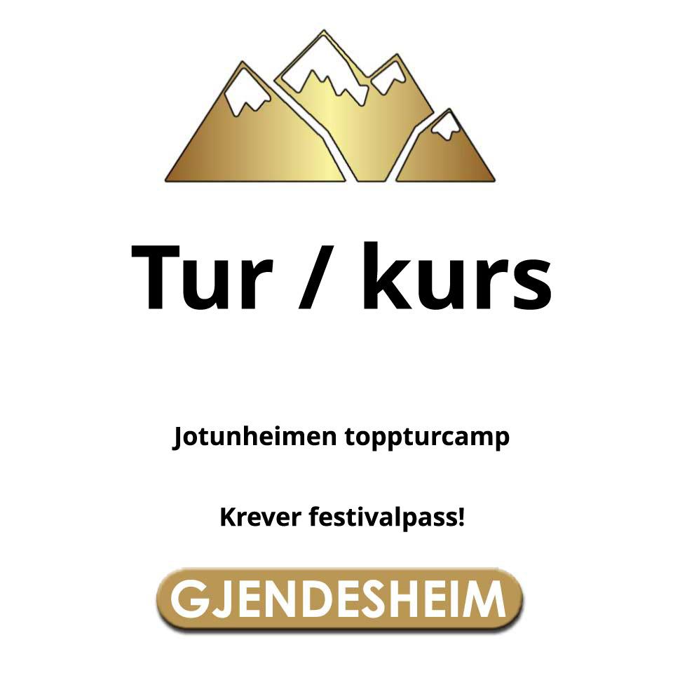 Søndag kurs Gjendesheim