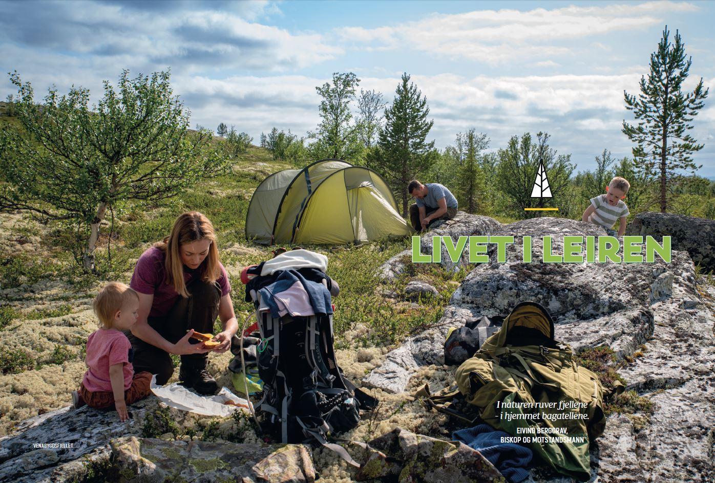 Utentter gir deg gode tips til livet i teltleiren