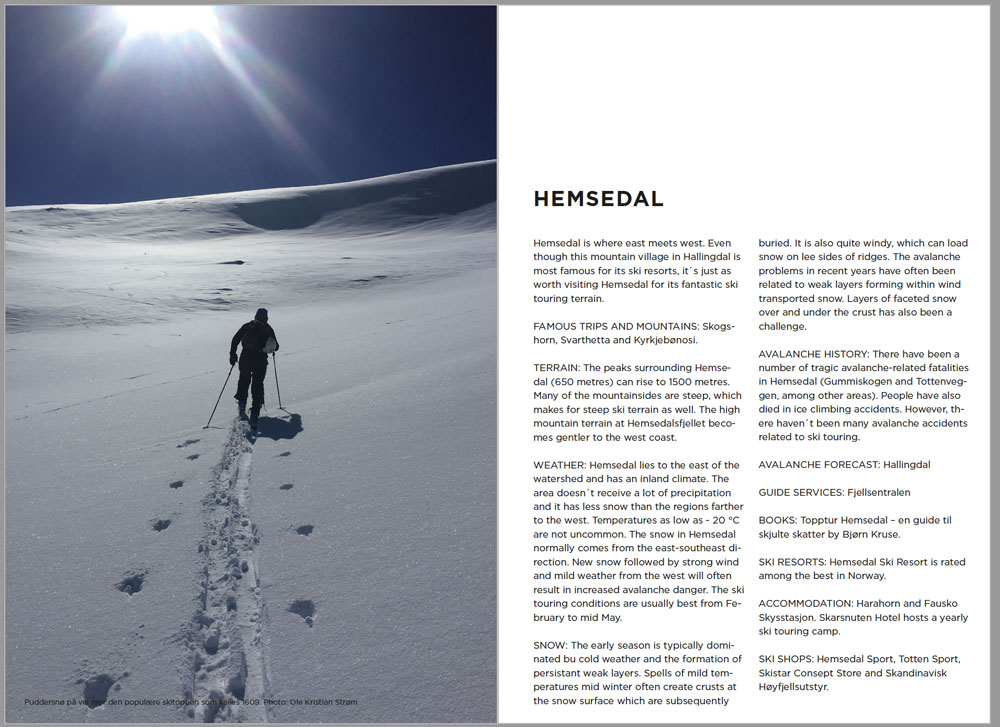 Safer Ski Touring In Norway - Oppslag 1