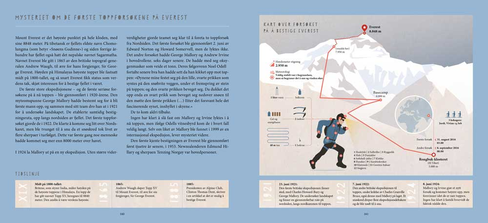 Summits of my life - Drømmer og utfordringer i fjellet - Oppslag 4