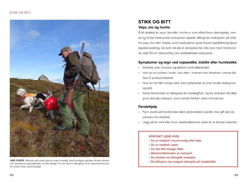 Førstehjelp på tur av Lena Fauske og Øyvind S. Bruland
