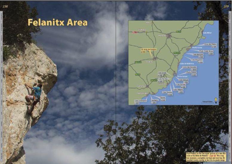 Klatrefører Mallorca - Oppslag 3