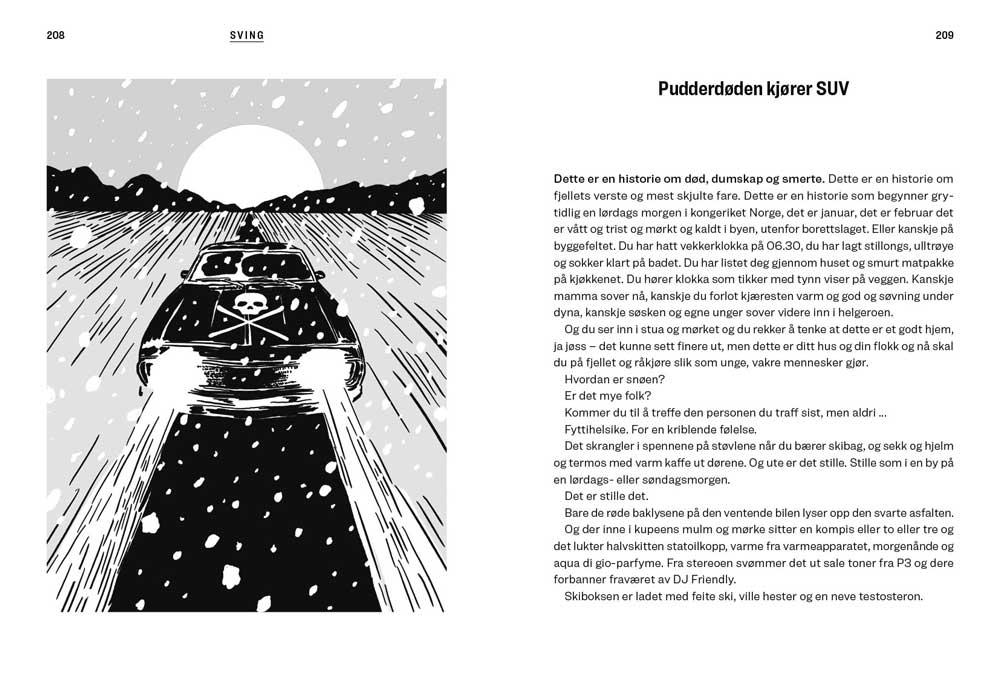 Siste tur - Historier om spor i pudder som skal snø igjen - oppslag 6