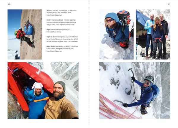 På død og liv - Norsk fjellredning fra innsiden - Oppslag 1